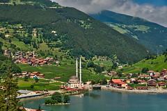 Uzungöl (Yavuz Alper) Tags: mountain lake tourism turkey town village türkiye türkei karadeniz trabzon manzara turchia yayla göl doğa çaykara uzungöl