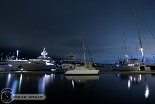 Night at Kona Kai Marina 70810 © Michael Klayman-002