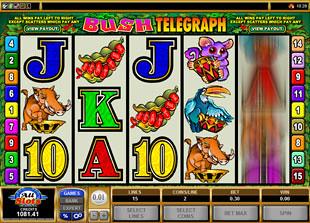 Bush Telegraph slot game online review