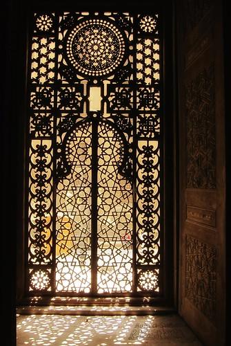 The window PATTERN - Masjid Al Rifai مسجد الرفاعي / Cairo / Egypt - 08 05 2010