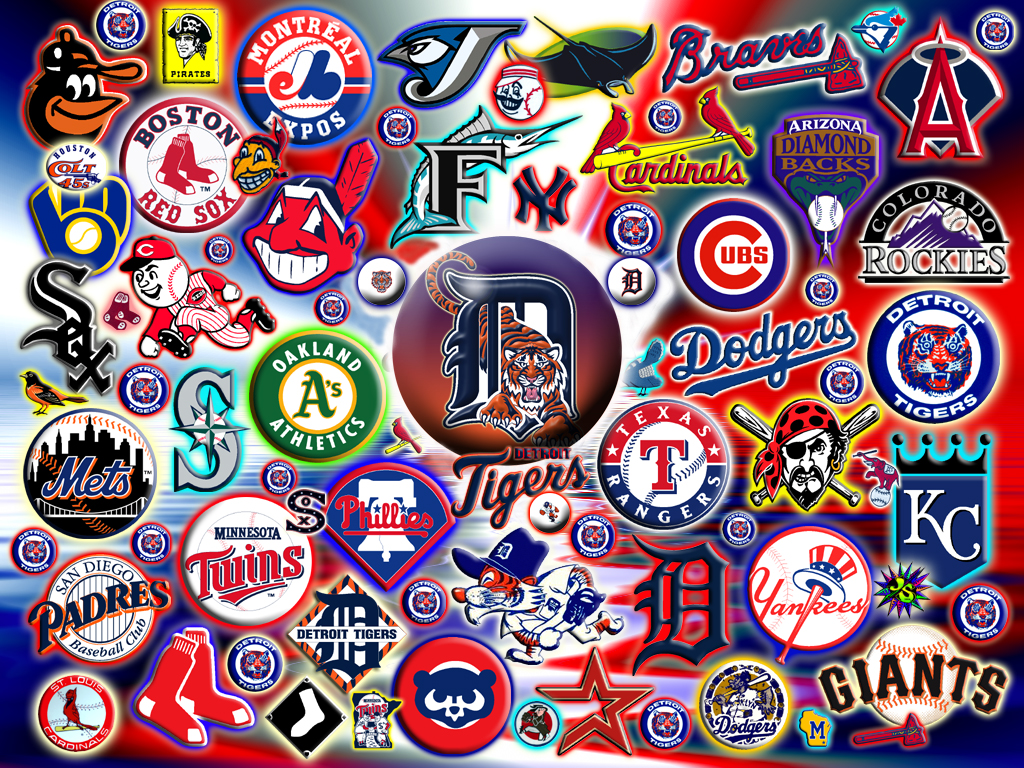 MLB Logos Wallpaper Jmangoblue Tags Sports Logo Team Mlb