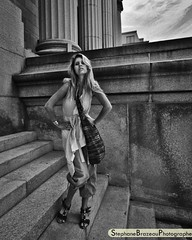 In the street with Jessika Denommée