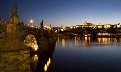 Prague by night (Kath W.) Tags: holiday prag praha tschechien