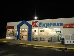Kmart Express (Burlington) (Joe Architect) Tags: 2010 burlington northcarolina nc triad retail night kmart favorites yourfavorites myfavorites