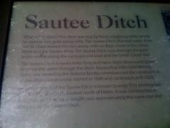 Sautee Ditch