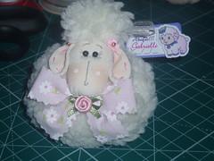 Lembrancinha (Sonhos de Tecido) Tags: tecido lembrancinha ovelhinha