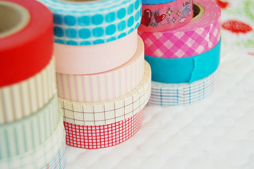 Washi tape is patterned masking tape
