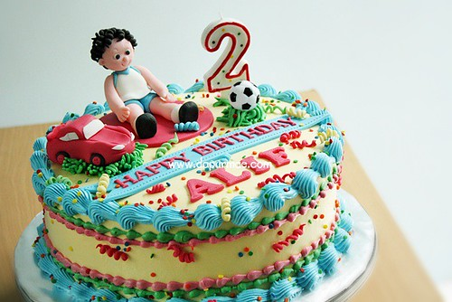 Alif's 2nd Bday cake