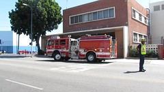 LAFD E 9 returns to quarters (KCORBETT1982) Tags: losangeles engine 9 lafd lacity skidrow thebighouse lacityfire