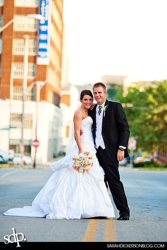 Kansas City wedding photos, Crossroads Art District