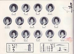 84th Miyako odori-1957 (kofuji) Tags: kyoto maiko geiko geisha gion miyako michi chieko odori miyoko tomiko tomika kanoko gionkobu toyoka kobu teruha satoharu kosue satochiyo mamekazu hisateru tomeko