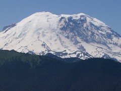 Zoom of Rainier from Lil' Ranger Pk.