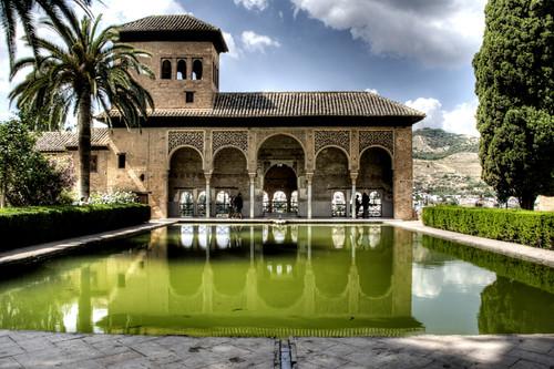 Alhambra gardens. Granada. Jardines de la Alhambra