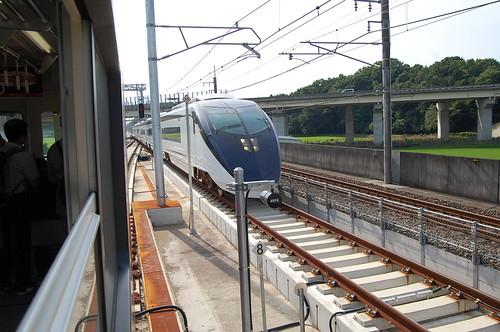 新根古屋信号場(新型スカイライナー 成田空港行き)
