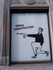 J. Crew Construction Sign #3