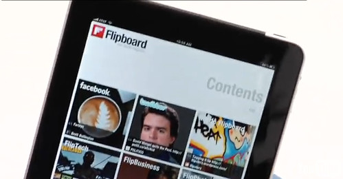Exclusive look at the new ipad app Flipboard