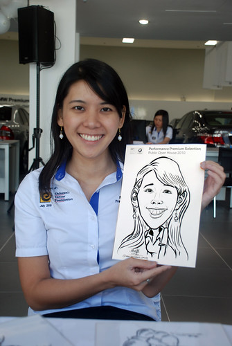 Caricature live sketching for Performance Premium Selection BMW - Day 2 - 16
