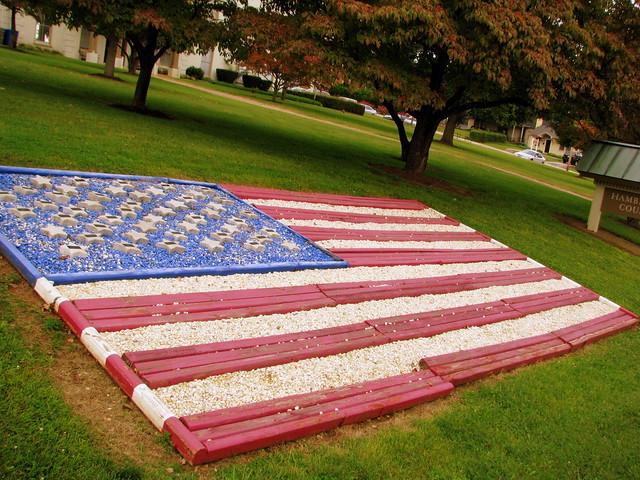 Hamblen County Courthouse Flag