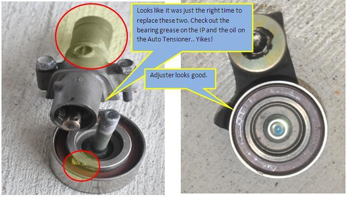 A-122: DIY - 105k Service: Timing Belt, Water Pump, Spark ...