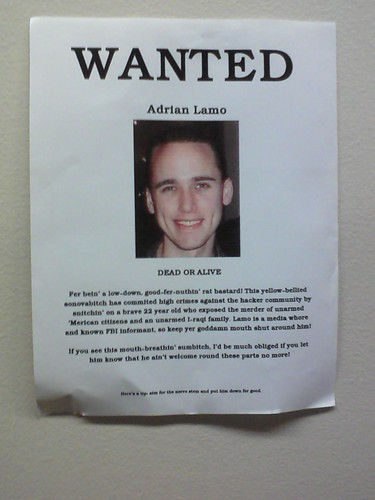 Wanted: Adrian Lamo