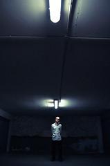 Viensdansnotrecave (Dwam) Tags: dark neon basement cave kidnapped whiteshirt galou mrpan dwam