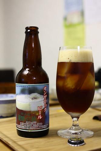 オンザロックビール