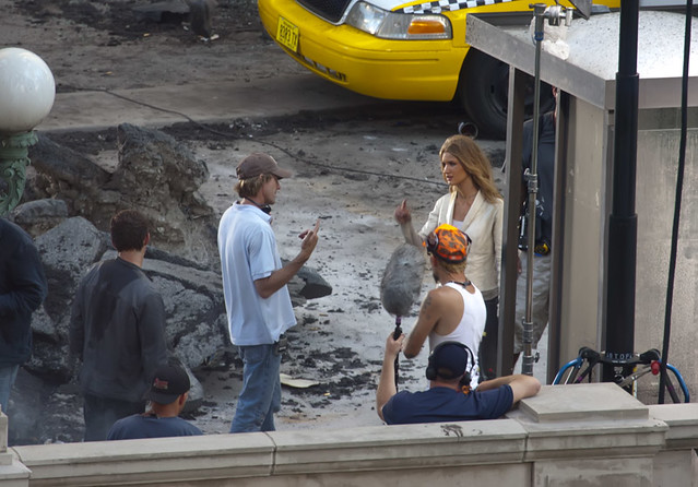 Michael Bay Rosie Huntington-Whiteley Carly Transformers 3