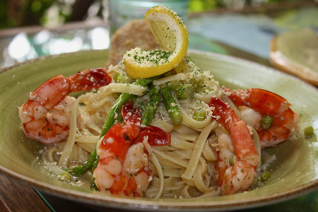 Cafe Mary Grace's Spicy Lemon Scampi