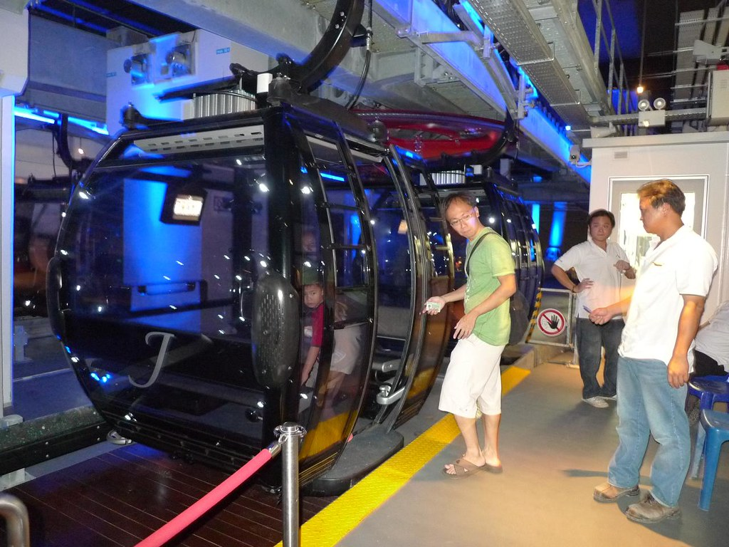 Mount Faber's New Cable Car Ride