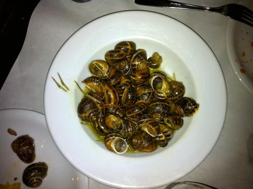 Χοχλιοί μπουμπουριστοί | Chochli (Snails) Boubouristi