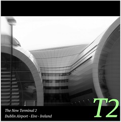 T2 @ Dublin International Airport : Aviation for the 21st Century : WORLD : SENSE : EXPLORE : WITHOUT : BORDERS : The new home of Aer Lingus, the irish national flag carrier! Enjoy your flights! :)