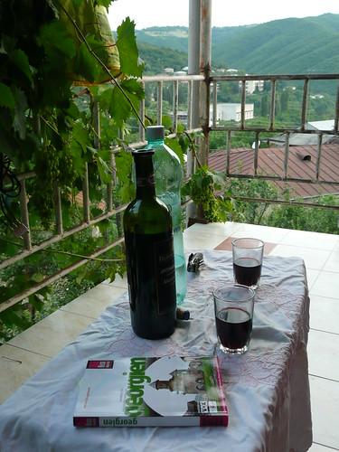Kachetischer Wein in Signaghi