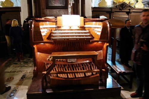 Consolle Organo Tamburini