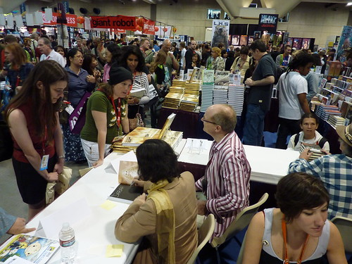 Moto Hagio mania - Fantagraphics at Comic-Con 2010