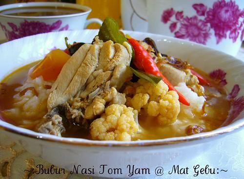 Bubur Nasi Tom Yam