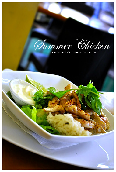 Engine Room Cafe Toowoomba: Summer Chicken