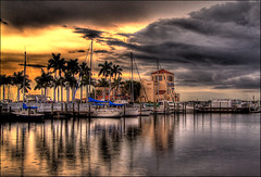 Twin Dolphin Marina (tebographics) Tags: florida hdr bradenton coth manateecounty reflectyourworld coth5 photowalk2010