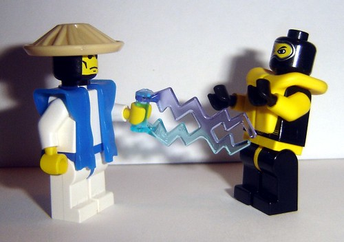 Raiden VS Scorpion