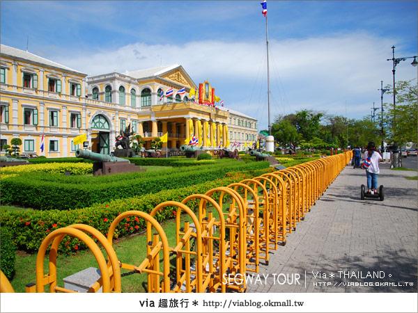 【泰國自由行】曼谷玩什麼?Segway塞格威帶你漫遊~14