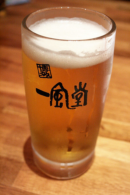 Wash it all down with some fine Sapporo draft beer!