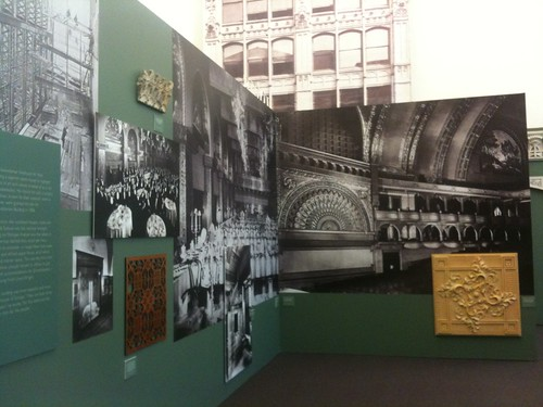 Louis Sullivan Works Exhibit at Chicago Cultural Center