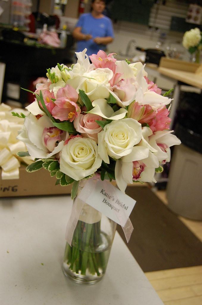 katie S's bridal bouquet