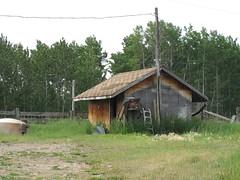 Pumphouse - First Nature Farm, Alberta, Canada