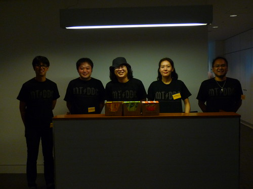 MTDDC TOKYO 受付のスタッフ
