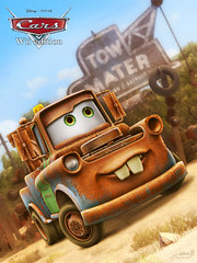 Cars Wii: Tow Mater (2006 / 2010) (hinxlinx) Tags: 3d cars character disney game lightning mater mcqueen pixar racer rainbow salvage tow towing vehicle wii