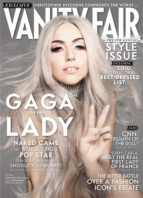 Lady Gaga for Vanity Fair