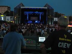 Herbie Hancock - FoH view - Arena Santa Giuliana...