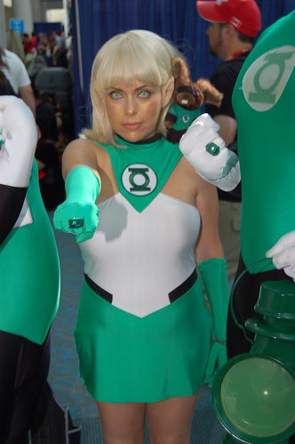 Comic Con 2010: Green Lantern Arisia Rrab