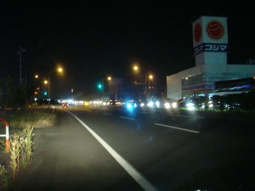 長岡まつり2010の渋滞