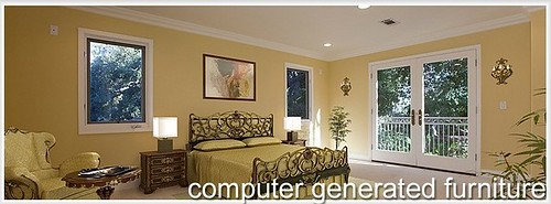 Bedroom - after Virtual Home Staging